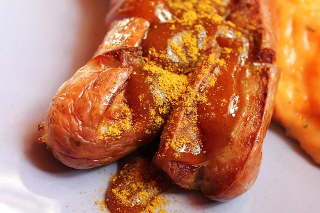 Seitan-Currywurst